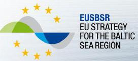 Logo: EU Strategy for the Baltic Sea Region (EUSBSR) (Externer Link: EU-Strategie für den Ostseeraum)